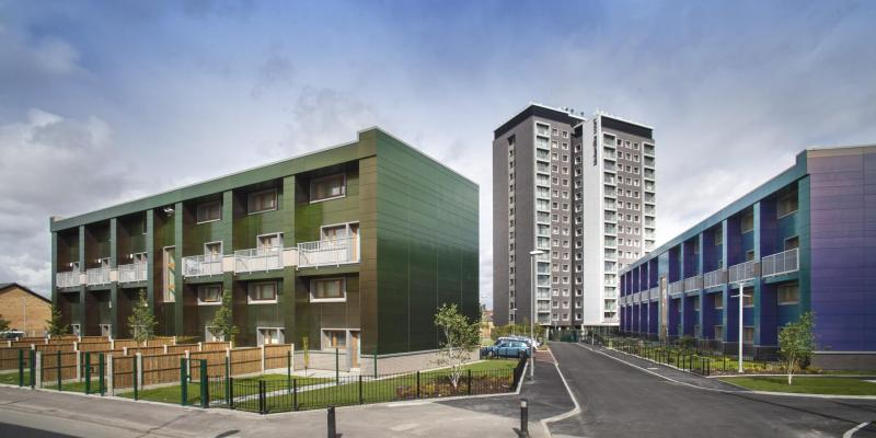 Passivhaus development - One Manchester