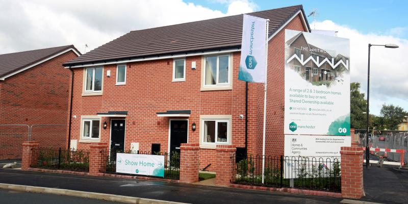 New homes, The Whitworths, Openshaw